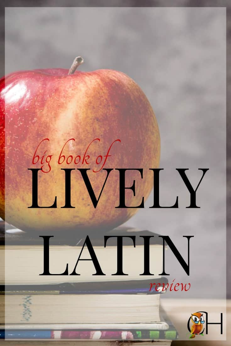 Sometime between the 3rd and 6th grade most classical homeschoolers begin teaching kids Latin. While there are many good programs out there, one of my favorites is Lively Latin.