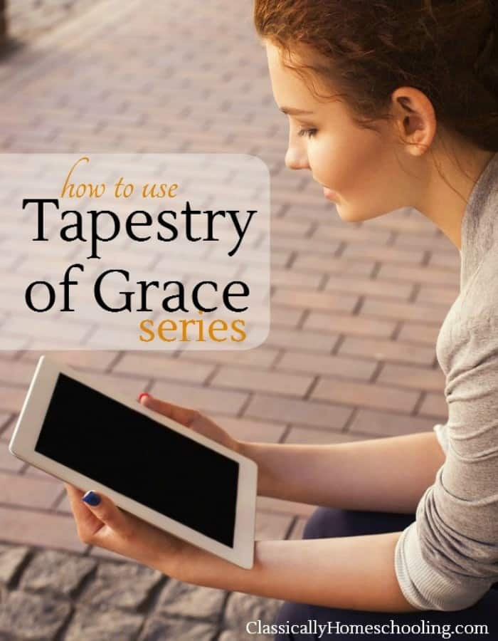 how to use Tapestry of Grace