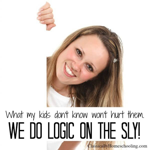 we do logic on the sly!