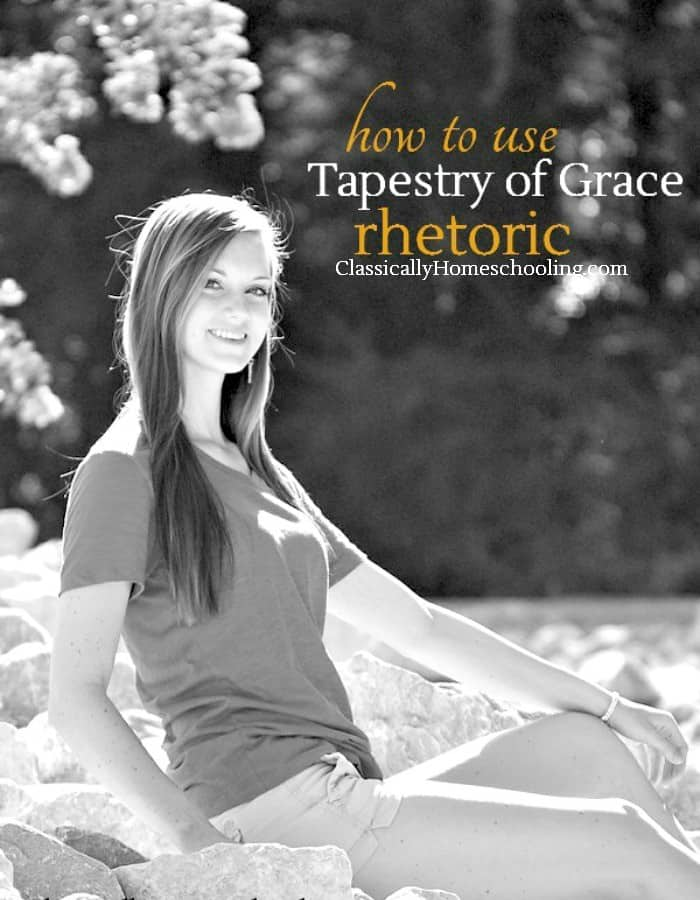 how to use Tapestry of Grace at the rhetoric level