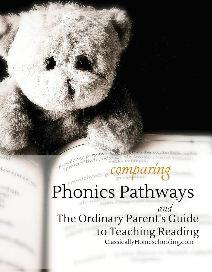 Phonics Pathways and the Ordinary Parent's Guide to Teaching Reading