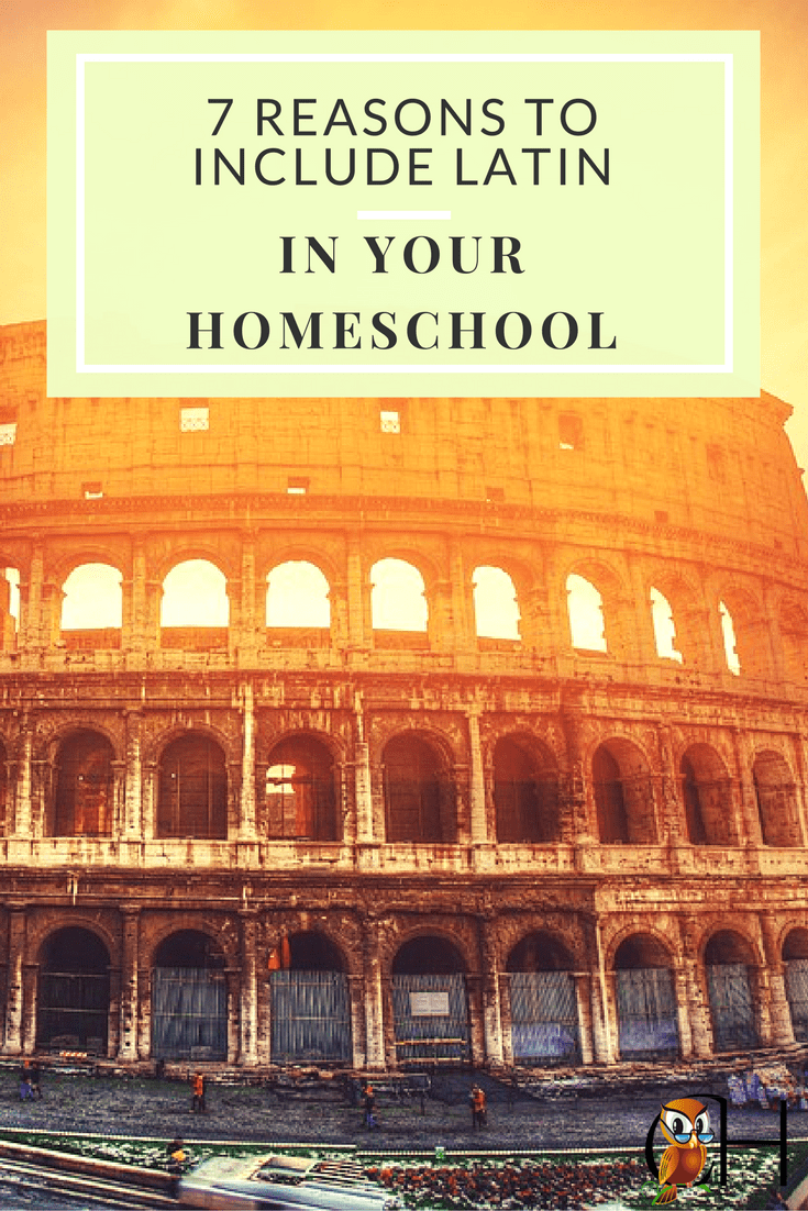 Why do so many homeschoolers teach Latin? After all, Latin is a dead language. Actually there are good reasons to include Latin in your homeschool. Find out why!