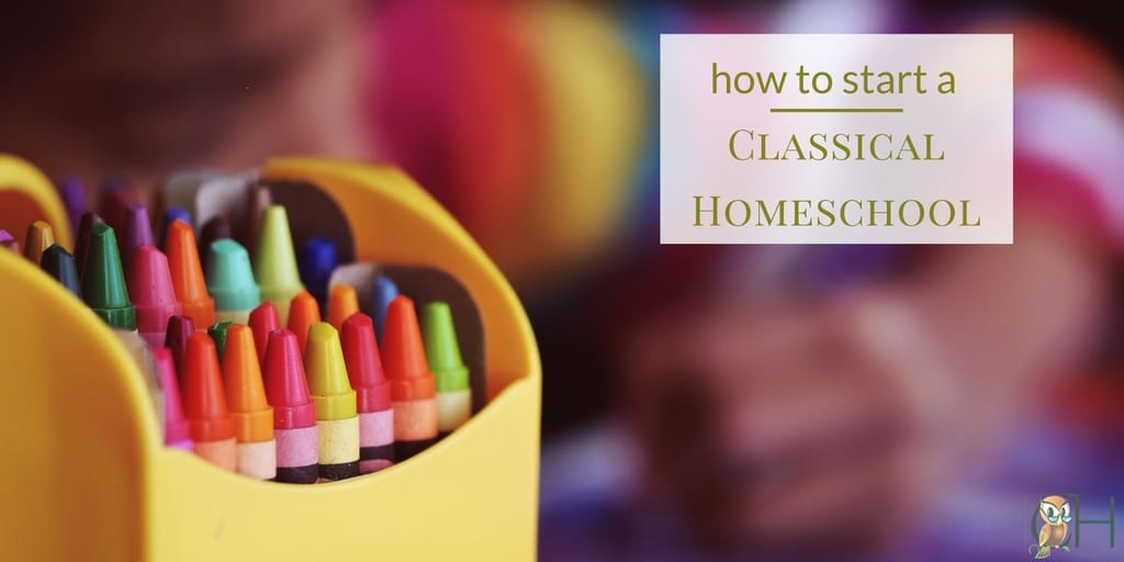 how to start a classical homeschool fb