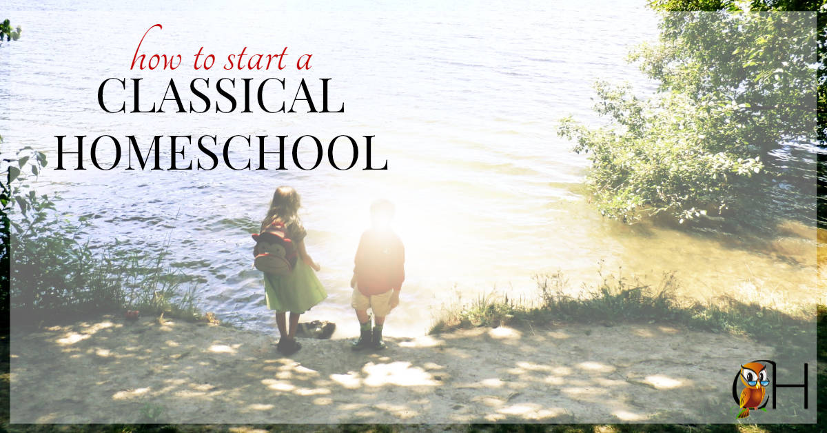 Are you switching from another method of homeschooling to classical? Are you wondering how to start a classical education at home?
