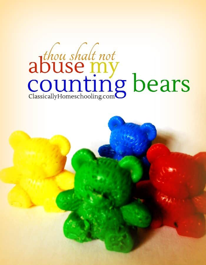 Thou Shalt Not Abuse Counting Bears