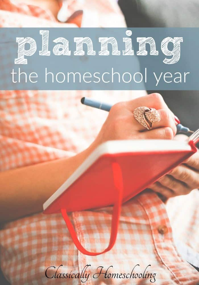 Planning the homeschool year seems to be in the air right now. I'm considering what I need to do before I begin planning,