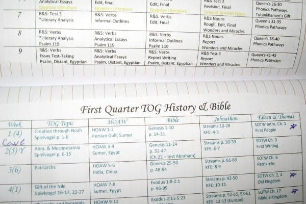 How I Created a Bullet Journal Homeschool Planner