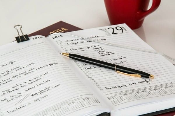 How to Use a Planner for School