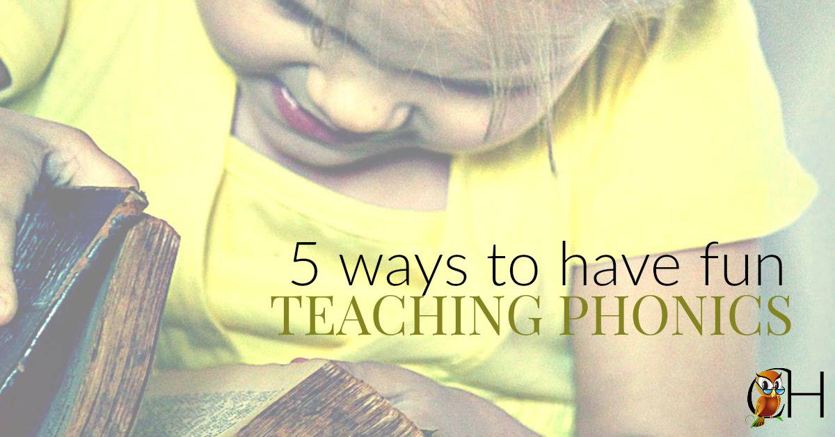 Let's be honest, phonics isn't the most interesting subject on the face of the Earth...especially when you're teaching it for the 6th time. So make phonics fun with these 5 fun tips!