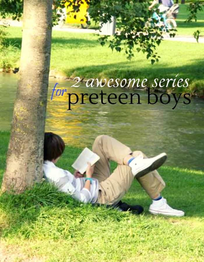 2 awesome series for preteen boys