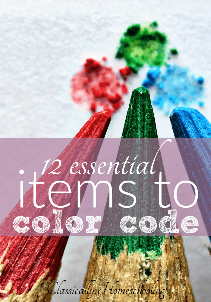 Do the children in your house bicker over the oddest items? Fight over school supplies? For a peaceful homeschool, try color coding your children.
