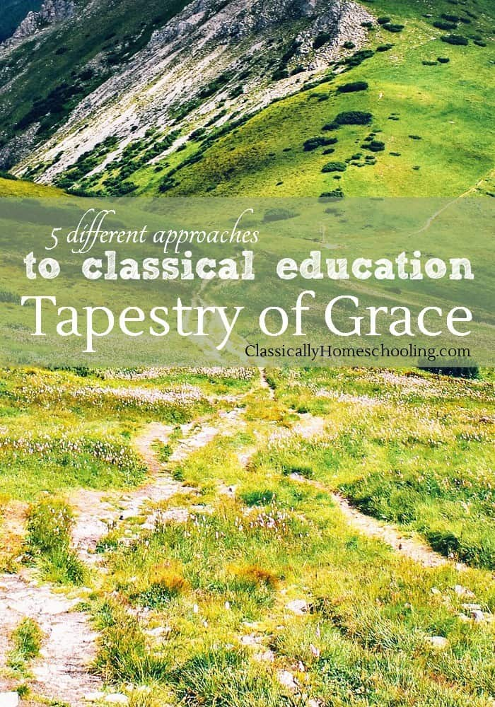 Tapestry of Grace is another history-centered approach to classical education. It was born when a homeschooling mother, trying desperately to give her six children an excellent education, found herself overwhelmed.