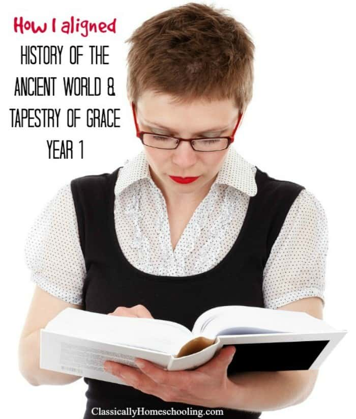 History of the Ancient World and Tapestry of Grace Year 1
