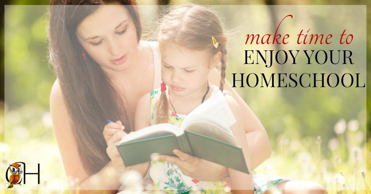 Are you involved in too many activities? Spending your days running from here to there? Make the time to enjoy your homeschool by following these 4 simple steps.