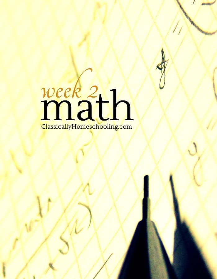 This is the week to add math to your homeschool