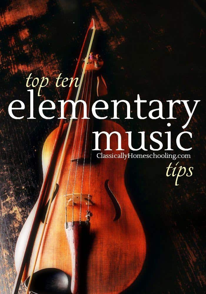 Don't be intimidated with the thought of teaching elementary music. Use your favorite tips from this list and have fun!