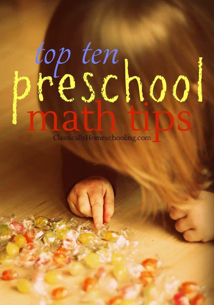 Teaching preschool math is a ton of fun with these 10 tips!