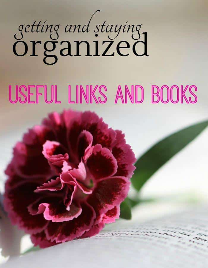 Getting organized is one thing. Staying organized is another matter all together.