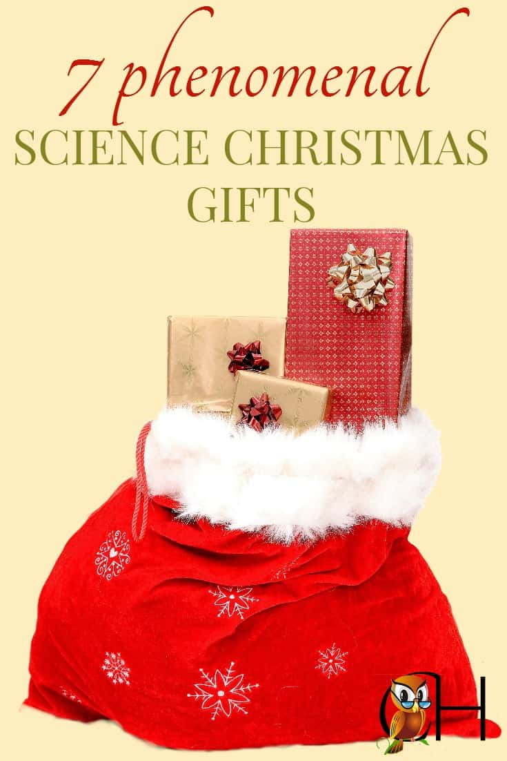 7 wonderful science Christmas gifts to give to your children and science lover. Grow frogs, enjoy slimy experiments, and love science!