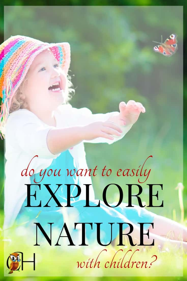 You absolutely have to check out Exploring Nature with Children by Lynn Seddon. It's just as delightful as it looks on her blog Raising Little Shoots!
