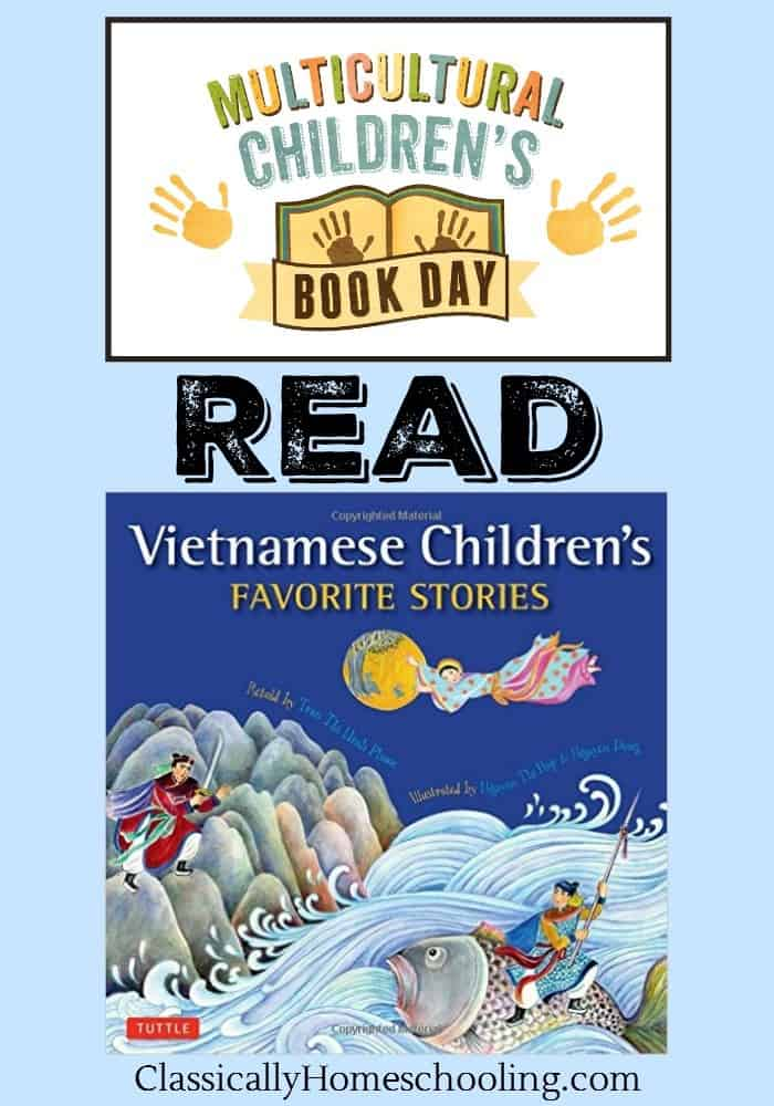 Vietnamese Children's Favorite Stories is full of myths and fairy tales from Vietnam. The stories aren't just well written, the artwork is beautiful. The stories are truly a delight to read!