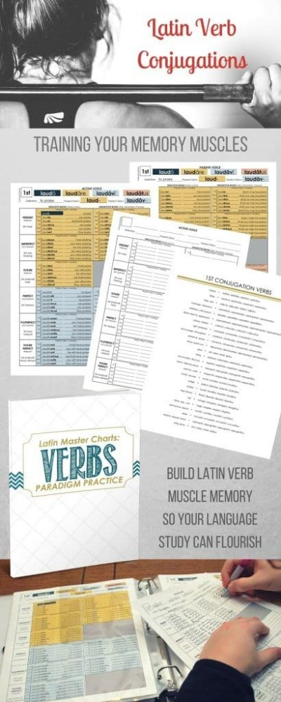 It's hard work memorizing those tricky Latin Verb Conjugations. So use these four easy techniques to make memorization easy and fun!