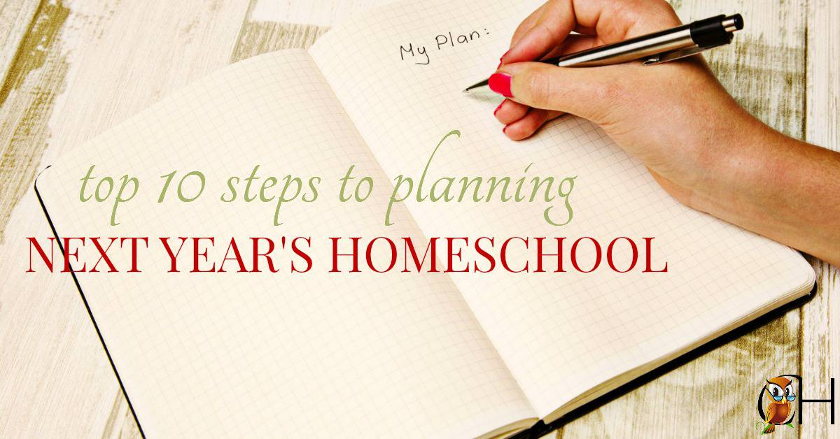 It's March! The sun is shining, the birds are singing, and the flowers are blooming. It's time to start planning next year's homeschool!