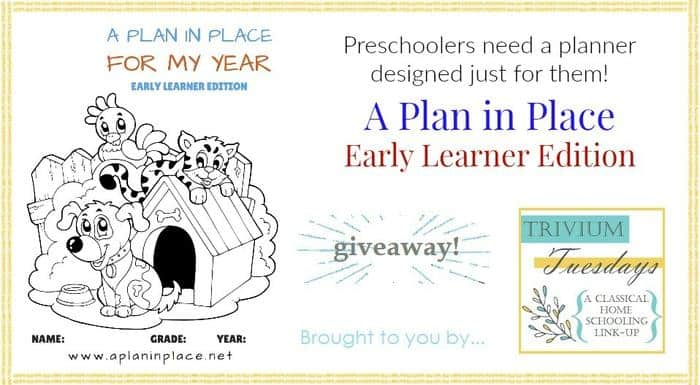 Plan in Place Giveaway