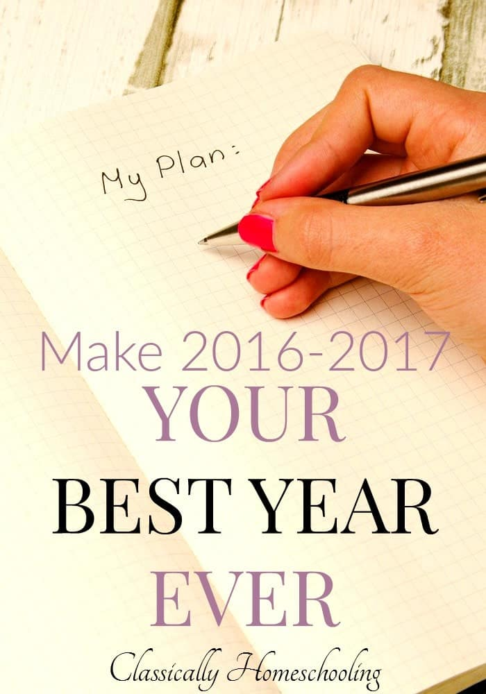 An awesome year begins with an awesome plan, so start your homeschool planning now!