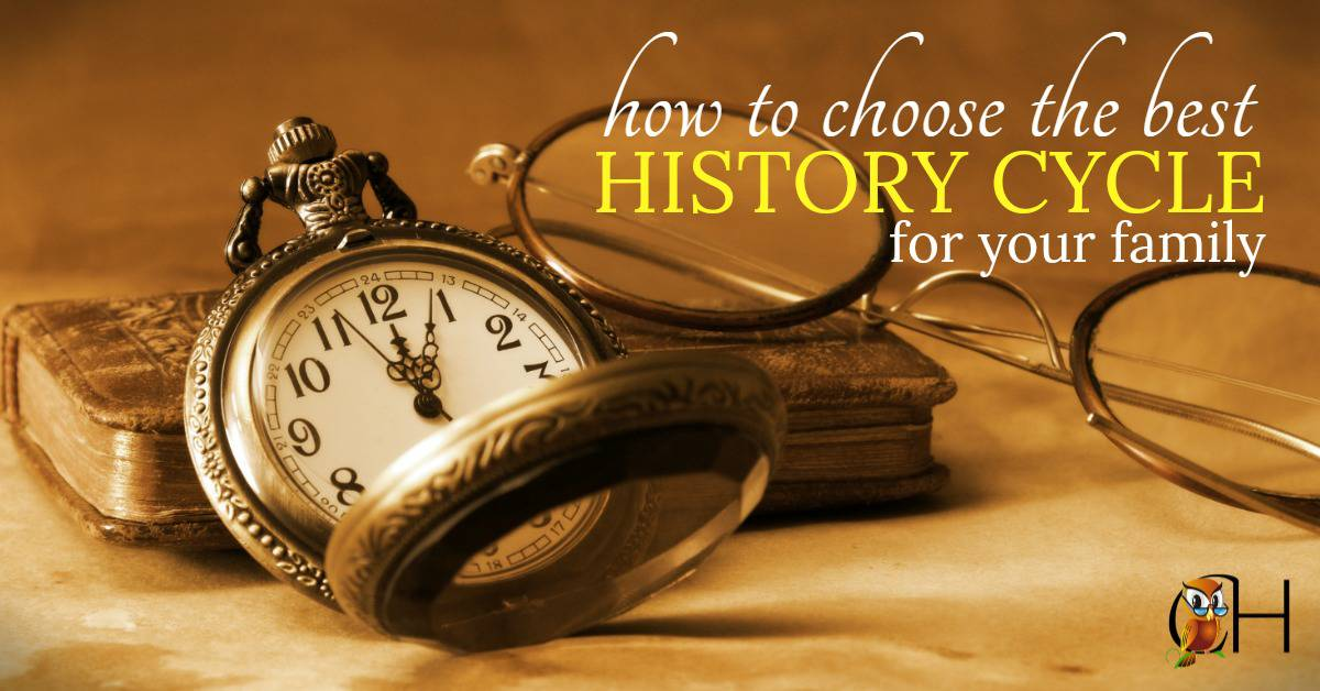There are many different ways to study history when you're homeschooling. So how do you choose the perfect method for your unique family? Click to learn more!