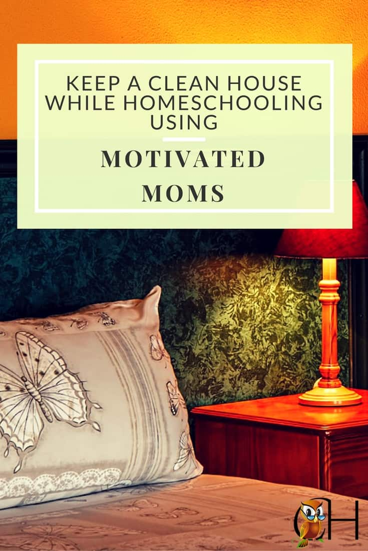 Homeschooling with a bunch of kids makes it hard to keep the house tidy. I want an easy solution to a tidy house without hours of work. Enter Motivated Moms!