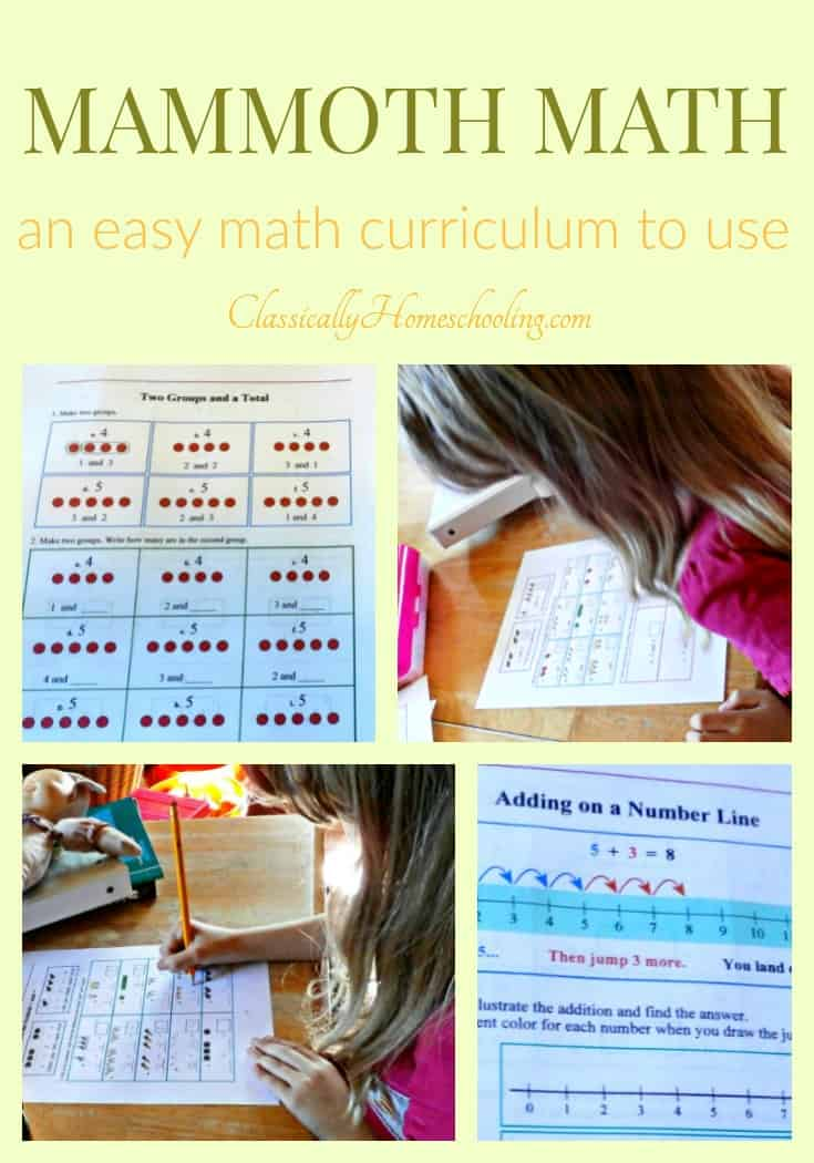 Nothing is better than an easy math curriculum for elementary kids. All you do is print and go. And that's exactly the type of math curriculum Mammoth Math is. Learn more about how Mammoth Math makes homeschooling easy!