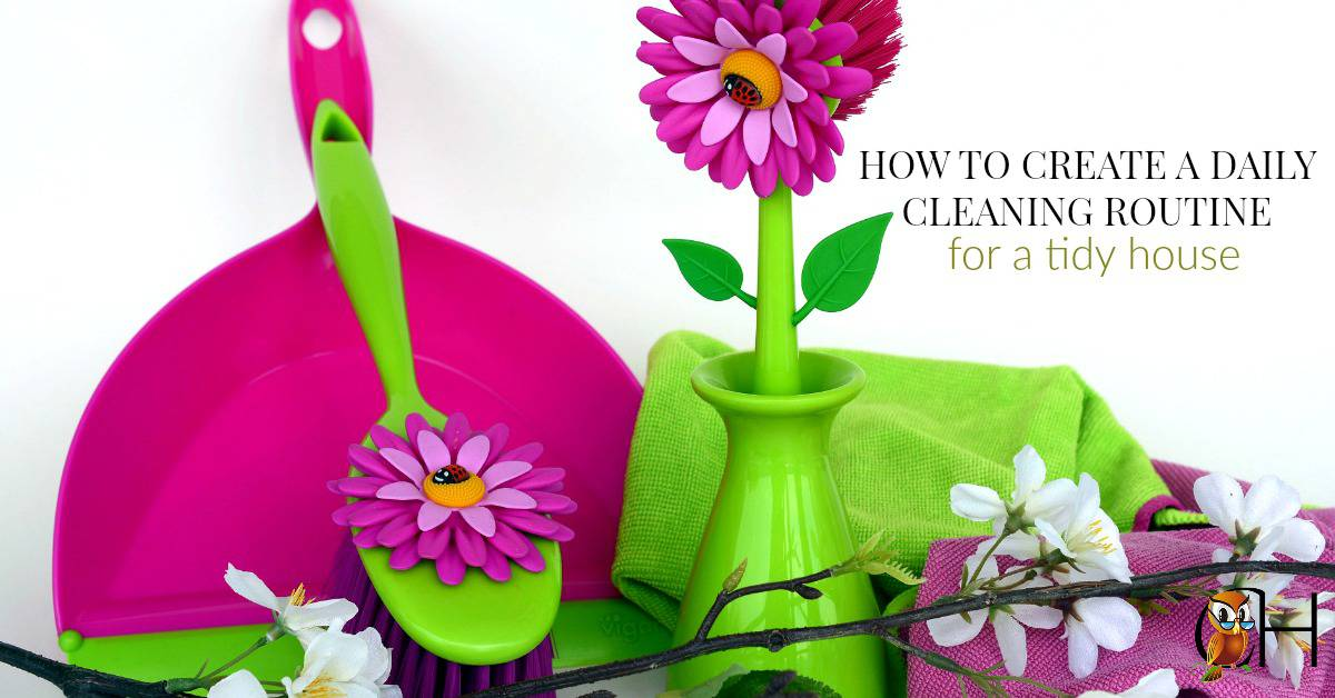 Have you ever thought about how to effortlessly keep a tidy house while homeschooling? It's not the cleansers or scrub brushes. It's daily cleaning routines!