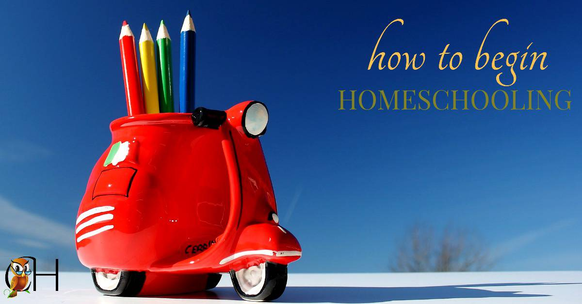 It's hard to know where to start when you begin homeschooling. Which curriculum should you use? How do you begin homeschooling?