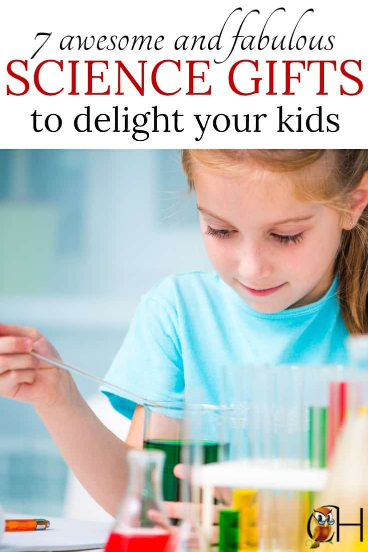 7 fascinating and fabulous science gifts to give to your children and science lover. Grow frogs, enjoy slimy experiments, and make candy!