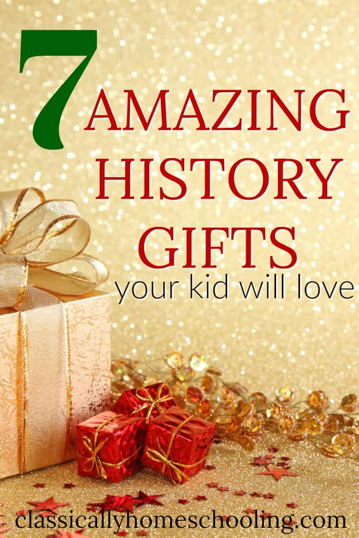Check out these amazing history gifts your kids will adore!!!!