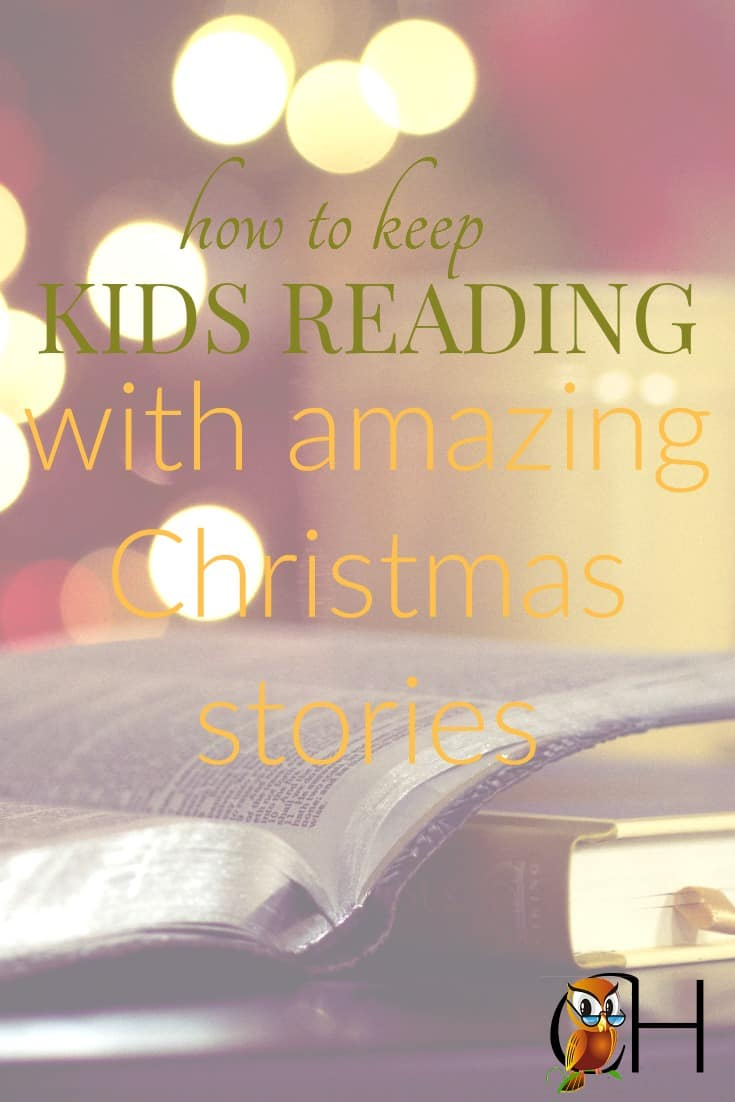 The Christmas spirit abounds and kids are bouncing off the walls. So how do you keep your kids reading when they're so hyper?