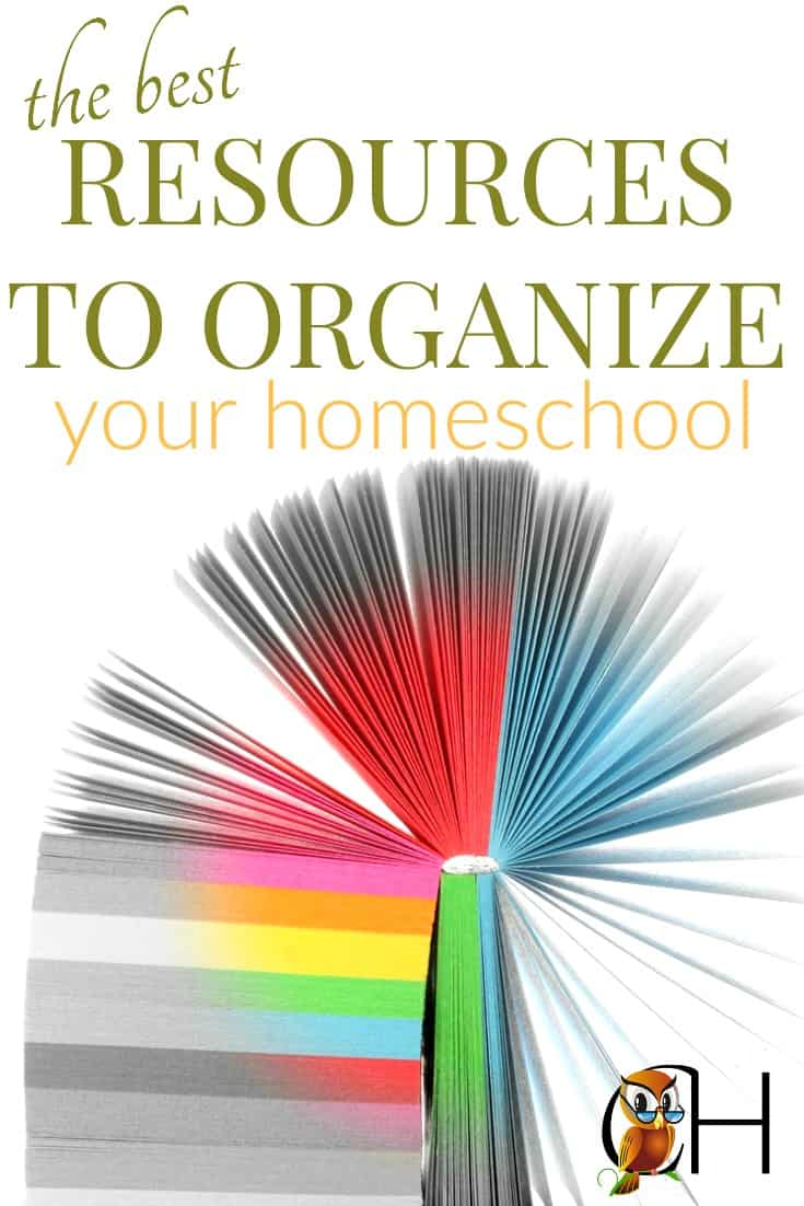 To have a well-run homeschool, you need some resources to organize your homeschool.