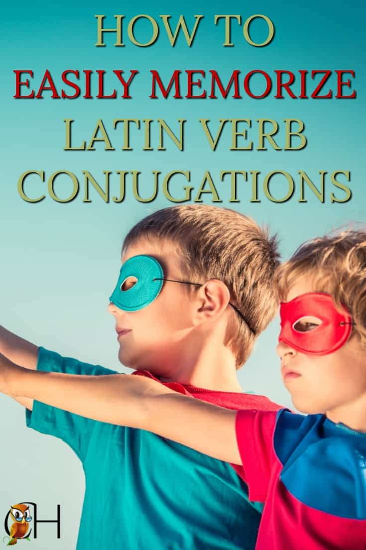 You can master Latin verb conjugations! These 4 easy methods will allow you to not only know how to conjugate Latin verbs, but easily memorize them as well.