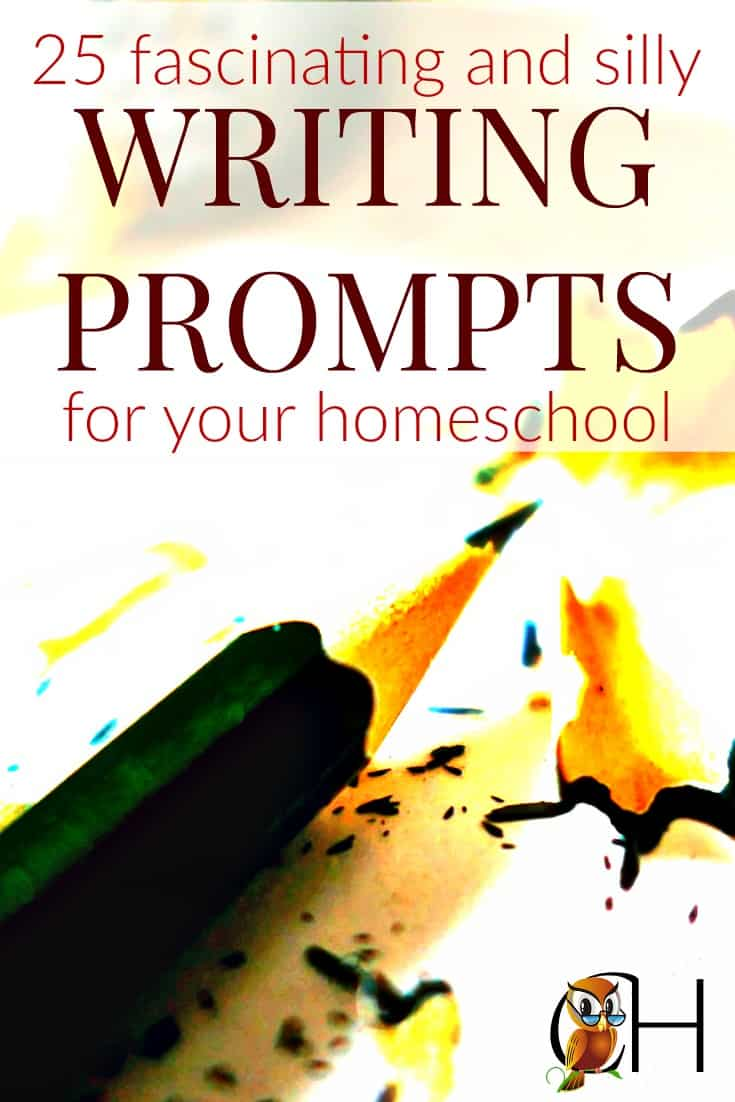 Are you looking for unique writing ideas for kids? Here are 25 fascinating and silly writing prompts to get your kids writing!