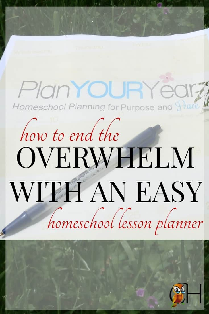 I was overwhelmed with the thought of a new homeschool year. How would I be able to plan the homeschool and give my kids a beautiful classical education?