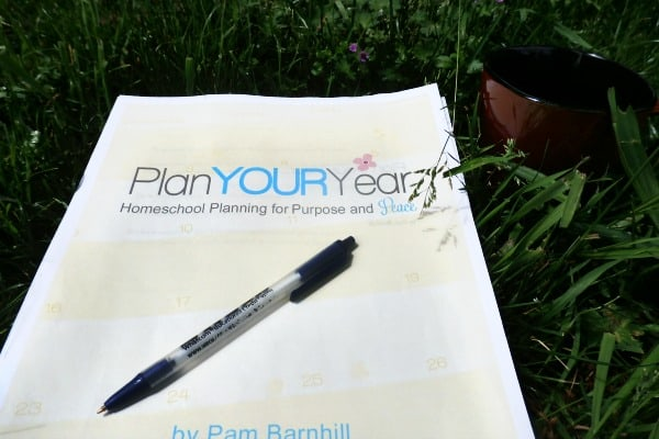 How to End the Overwhelm with an Easy Homeschool Lesson Planner