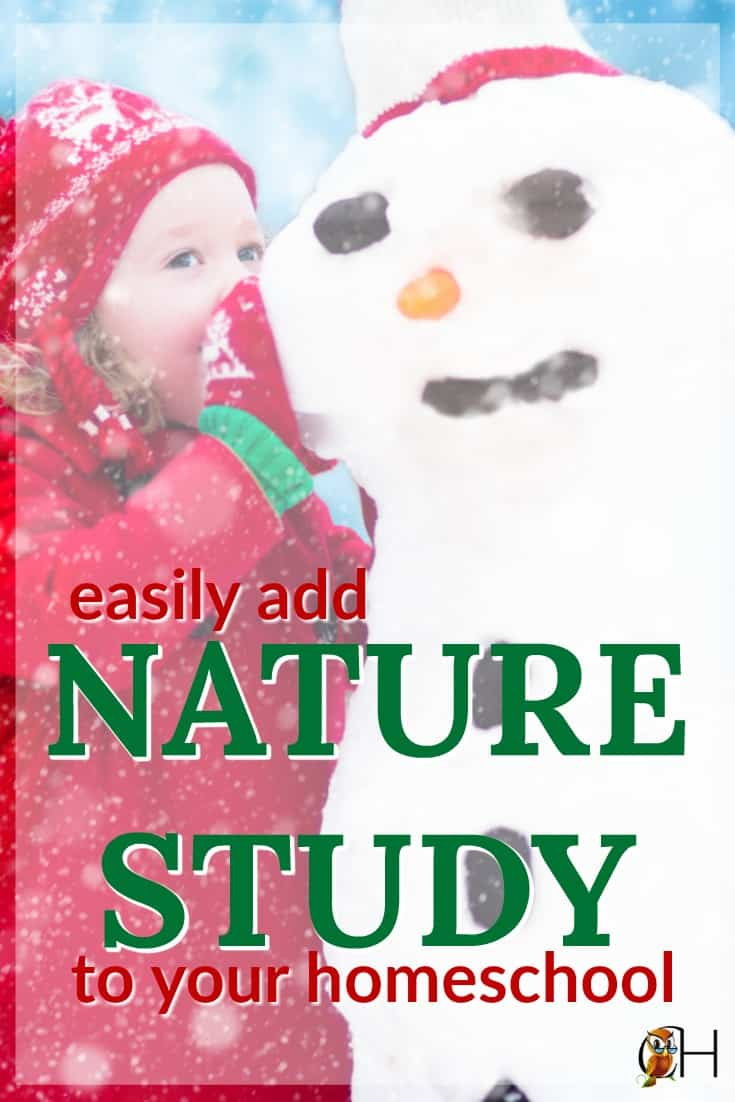 You can easily add a Charlotte Mason style nature study to your homeschool. Read to find out how!!!