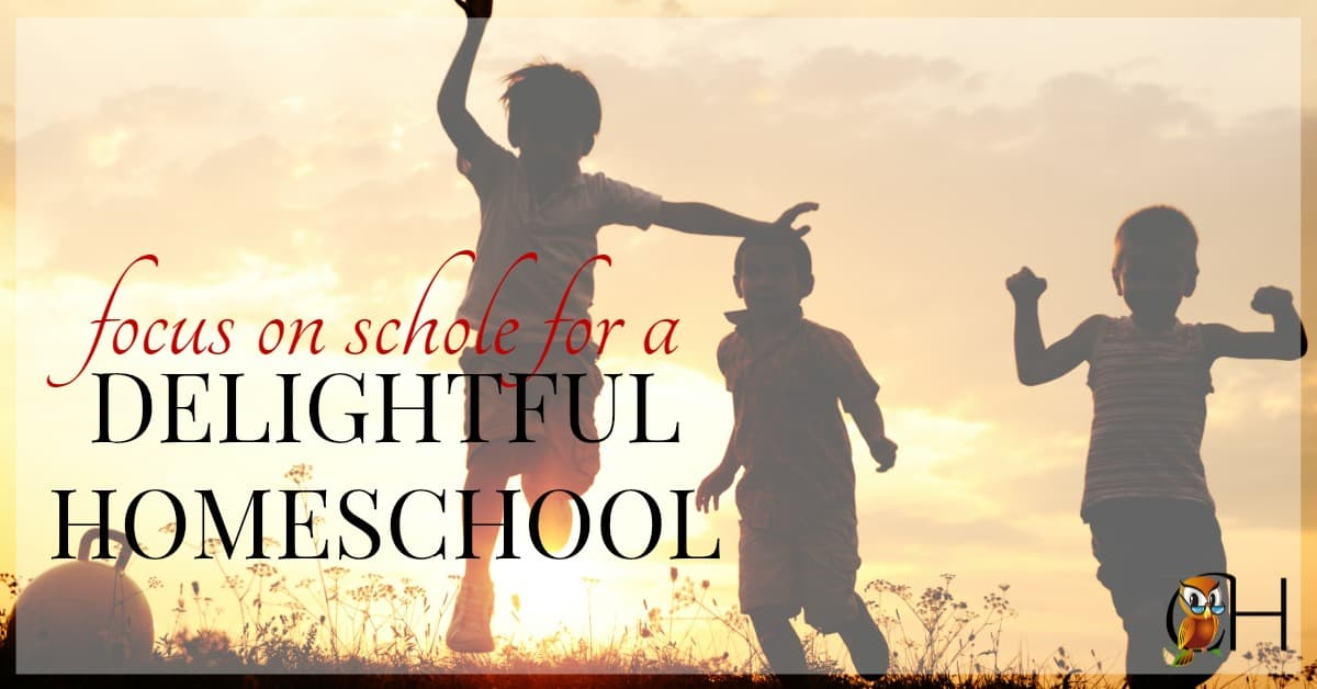 Have you ever dreamed of having a delightful homeschool, one where you look forward to homeschooling everyday? Learn how to create a homeschool you love today!