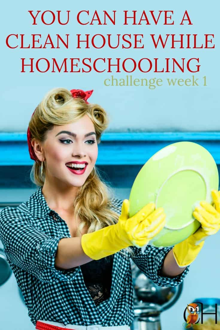 Is your homeschool going crazy and your house a mess? Are you dropping balls? Change your life and join the You Can Have a Clean House and Homeschool Challenge!