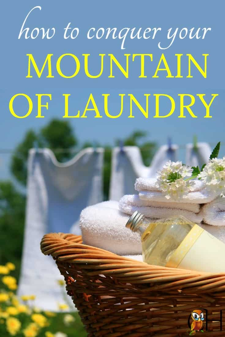 You can have a clean house while homeschooling so join the weekly challenge to get your house clean. This week we're conquering your mountain of laundry!