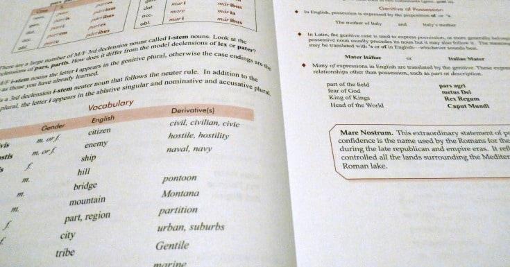 curriculum latin plural