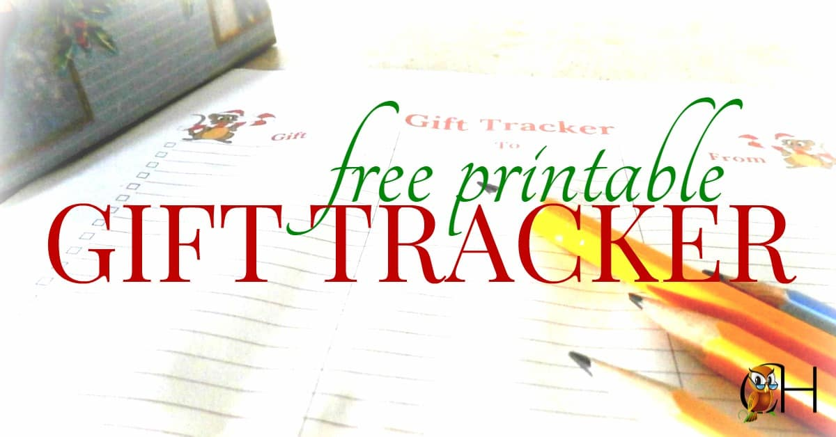Download your free printable Christmas gift tracker today to make it easy to remember who receive which give and send thank you letters to family and friends!