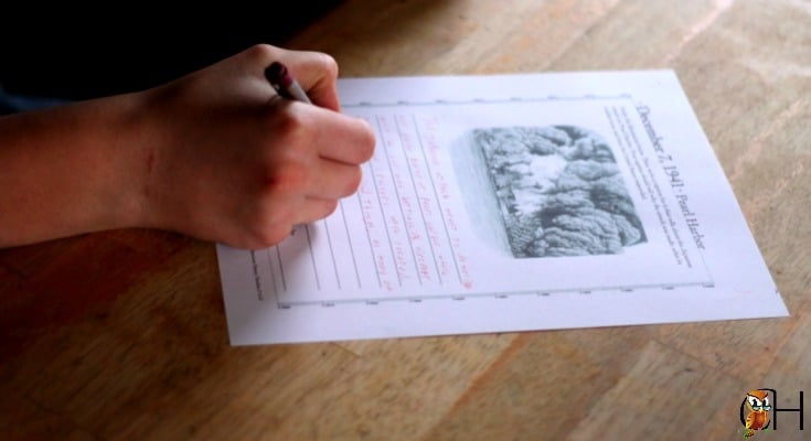 The Giant American History Timeline includes activity sheets which guides kids towards an understanding of how the event fit within the story of history.