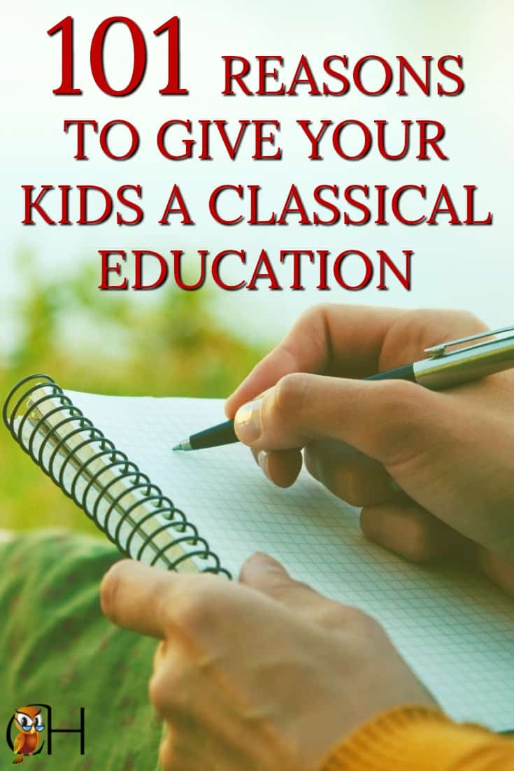 Have you ever wondered why classical education? What does a classical homeschool actually have to offer to your children and your family? Here's the answer:
